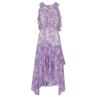Whistles Anne Batik Lily Print Dress