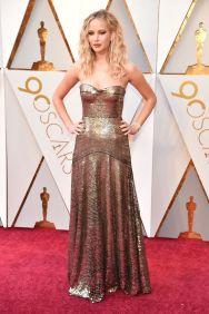 Jennifer Lawrence in Dior. Credit: Getty Images via Harper's Bazaar.