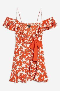 Poppy Ruffle Mini Dress